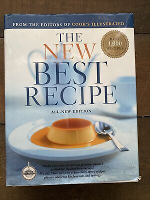The New Best Recipe All New Edition Cook's Illustrated America's Test Kitchen HC