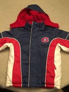Manteau des canadiens enfant 4-5ans