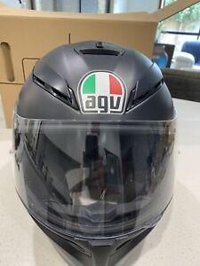 Agv K5 Matte Black Helmet Size Ml Motorcycle Scooter Accessories Gumtree Australia Camden Area Harrington Park 1265368178