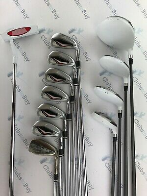 MD Golf Seve Icon Irons Driver 2 x Fairways & Hybrid Putter Mens RH Full Set