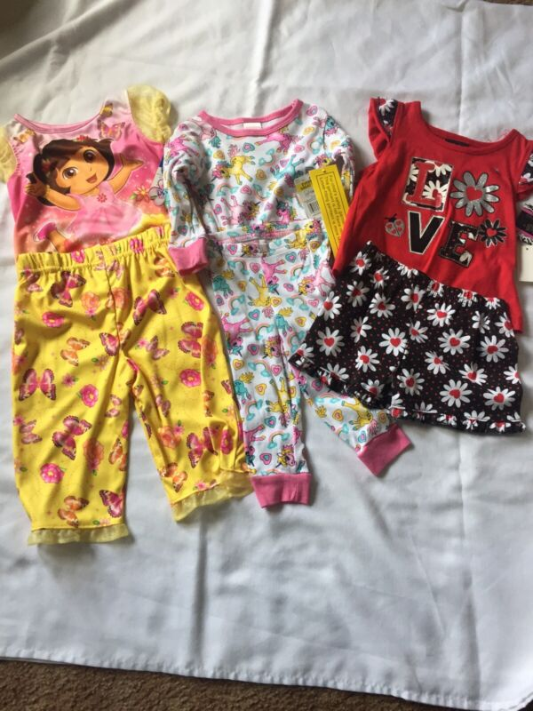 Baby Girl Clothes Lot 12 Months Dora