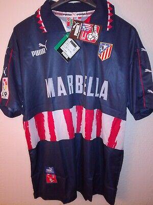 ATLETICO DE MADRID 1997-1998 BNWT Marbella camiseta shirt trikot maillot puma