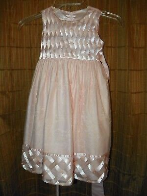 Toddler Girl Cinderella Brand Pink Beaded Dress Size 4T