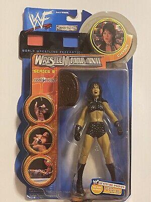 WWF Chyna Wrestlemania XVII series 9 action figure