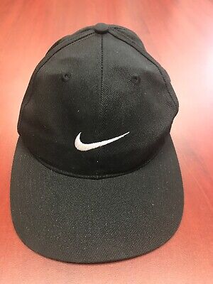VTG 90s Nike Embroidered Snapback Hat Cap Hip Hop Eazy E EUC Blade White Check