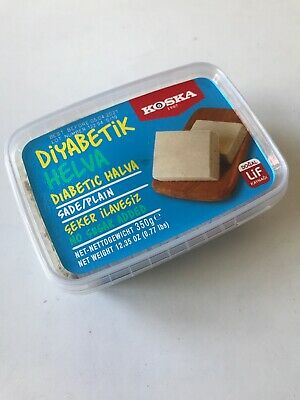 Diabetic Halva Plain- ( Koska ) - No Sugar Added - 350...