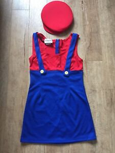 Girl's Mario Dress and Hat