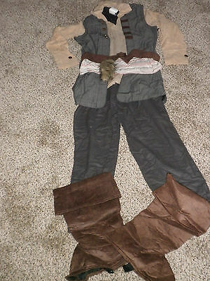 Disney Store Pirates of the Caribbean Jack Sparrow Costume New Size small childs - Jack Sparrow Kids Costume