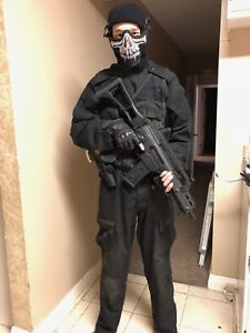 Full airsoft outfit gun not included