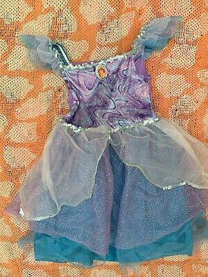 AUTHENTIC DISNEY STORE The Little Mermaid PRINCESS DRESS PLAY COSTUME SZ XS 4-5](Disney Store Little Mermaid Costume)