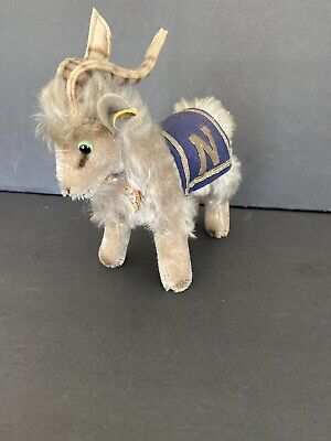 Steiff Navy Goat 15 Cm All ID Art 7315,90 Excellent Vintage Condition