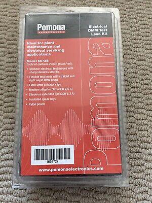 Pomona 5673b Electrical Digital Multimeter Test Lead Kit - Brand New Sealed