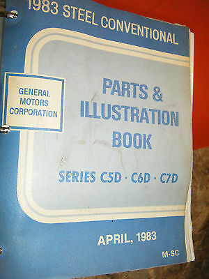 1983 GMC CHEVY STEEL CONVENTIONAL MEDIUM TRUCK FACTORY PARTS MANUAL CATALOG BOOK 1983 Gmc Truck Parts