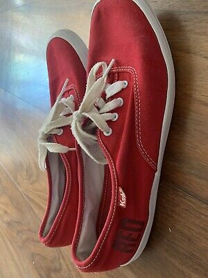 Taylor Swift Red Album Keds Limited Edition Size 7 U.K. Women's