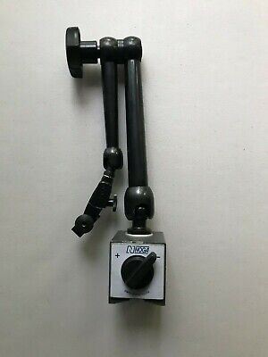 Noga Magnetic Base With Articulating Arm With Fine Ajustment18 Inchs In Height