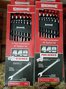 Sidchrome 14P Imperial R/O end Spanner Set Highclere Burnie Area Preview