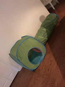 Kids tent and tunnel set