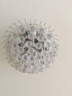 Chandeliers ceiling lights gumtree australia inner sydney 3 crystal chandeliers aloadofball Image collections