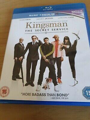 Kingsman The Secret Service Blu-ray - DVD