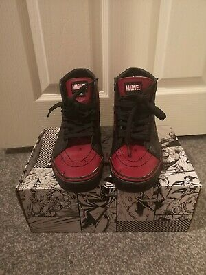 Deadpool Vans Size 5.5