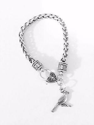 Cardinal Cute Bird Nature Mom Daughter Friend Christmas Gift Charm Bracelet