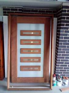 Glass 5 Panel front door with frame Camden Area Preview
