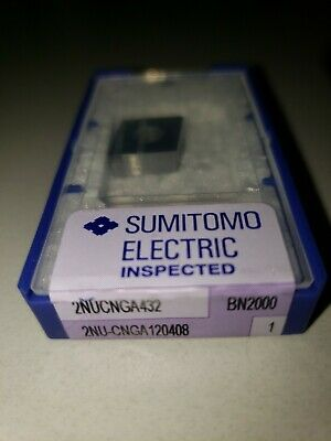 Sumitomo 2nucnga432 Bn2000 Turning Insert Cnga 120408 Cbn 432 Size