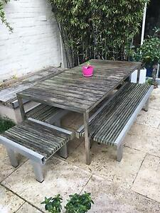 Outdoor Garden Table and Chairs Paddington Eastern Suburbs Preview