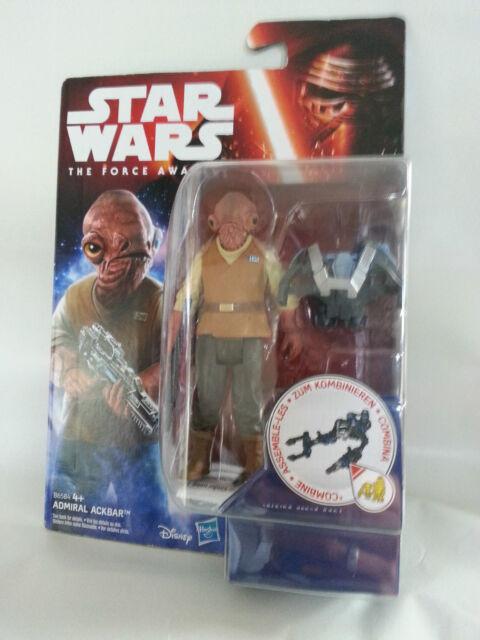 HASBRO Star Wars Admiral Ackbar Figur NEU
