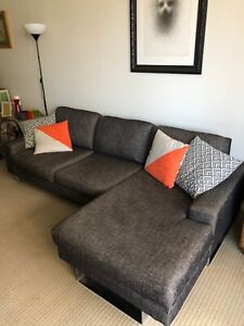 Freedom L shaped couch modern and comfy