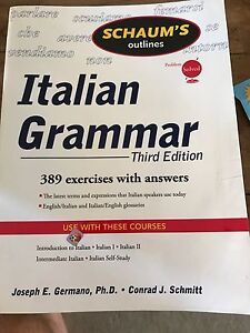 Italian Grammar 3rd Edition Coogee Cockburn Area Preview