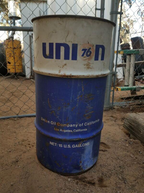 UNION 76  Drum Rare Can Barrel