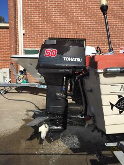 1996 MD50 Tohatsu 50hp 2 stroke outboard