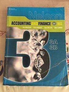 ATAR accounting and finance book Kardinya Melville Area Preview