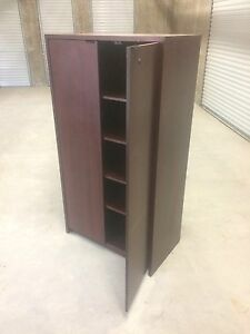 Very solid wood cabinet / bookcase