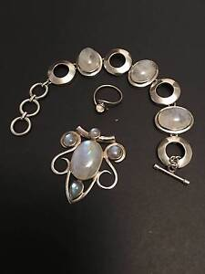 Silver and Moonstone set Unley Unley Area Preview
