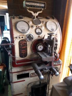 Vintage electrical test bench