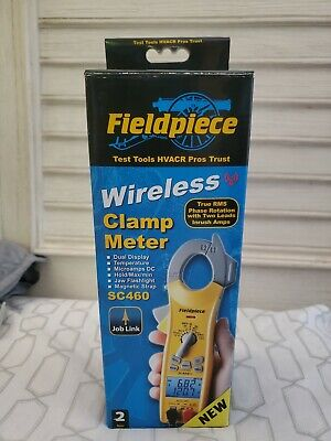 Fieldpiece Sc460 400a True Rms Wireless Clamp Meter - 3-phase Rotation Test