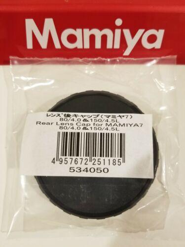 Mamiya 7 / Mamiya 7 II REAR LENS CAP (for 80mm / 150mm / 210mm lenses)