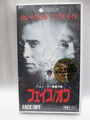 FACE/OFF : John Woo -  Japanese original  VHS RARE