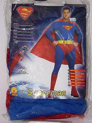 Fraternity Halloween Party (Plus Size 46-52 Men's  HERO SUPERMAN  Halloween Costume Frat Party)