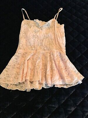 Hanky Panky Signature Lace Chemise Top  Size Medium $62.00