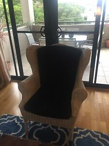White feature armchair Bellevue Hill Eastern Suburbs Preview