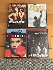 DVD's lot Boxing movies $5 for all 4