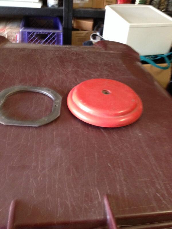 Acorn Gumball Machine Round Cap & Matching Top Ring