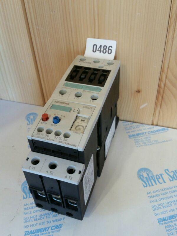 SIEMENS SIRIUS 3RT1033-1A , 3RU1136-4DB0  CONTACTORS Dusty Shelf Wear