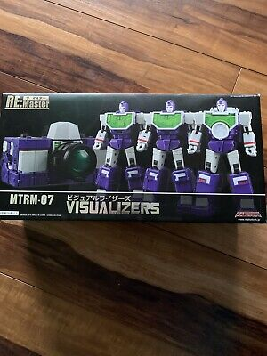 Maketoys RE: Master MTRM-07 VISUALIZERS Transformers 3rd Party Reflector Set