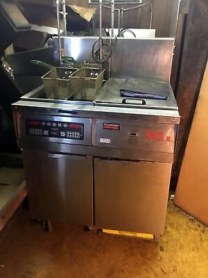 Frymaster Electric Fryers Model Fh14-2blsc With Filter Magic Ii