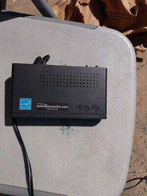 Analog-to-digital tv television converter box