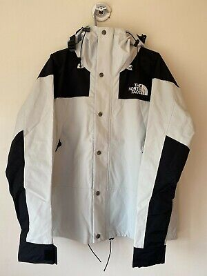 North Face 1990 Mountain Jacket -L -GTX GORE TEX TIN GRAY/WHITE NEW WITHOUT TAGS